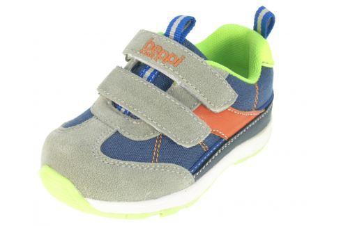 Beppi Chlapecké tenisky - modro-šedé Ležérní tenisky