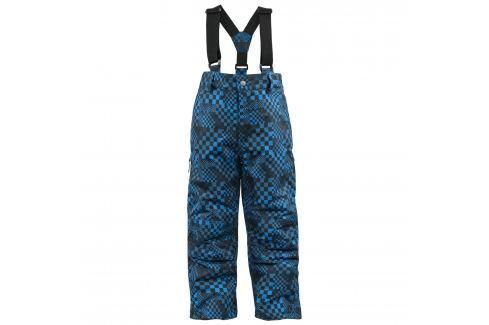 Trespass Modré kostičkované lyžařské kalhoty Dětské Zimní kalhoty, oteplovačky