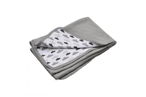 Lodger deka Dreamer Quilt Grey 100x150 cm Dětské deky