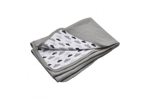 Lodger deka Dreamer Quilt Grey 75x100 cm Dětské deky