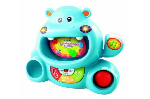 Vtech Počty s kamarádem Hrochem - modrý Robotické hračky