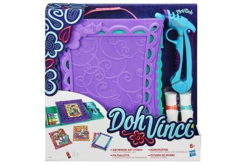 Play-Doh Cestovní zdobící set DohVinci Vytvoř si sám