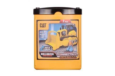 Nikko CAT Stavebnice  - Buldozer Stavební auta, bagry, jeřáby