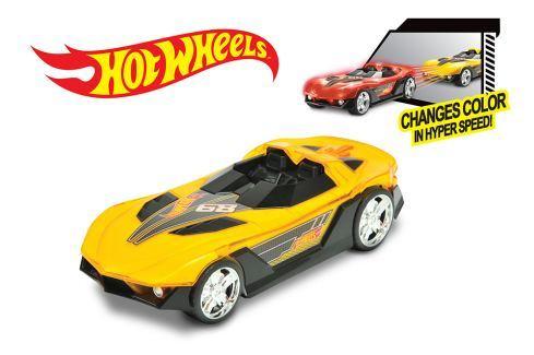 Nikko Zvuková autíčka Hot Wheels Hyper Racer, 3 druhy Stavební auta, bagry, jeřáby
