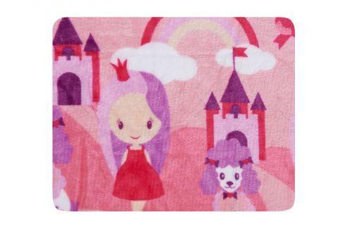 My Best Home Deka Petite 75x100 cm - růžová Dětské deky