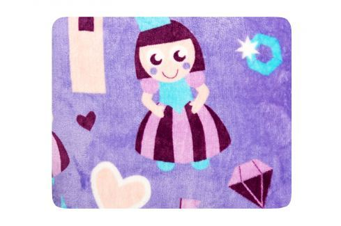 My Best Home Deka Wonderland 75x100 cm - princezna Dětské deky