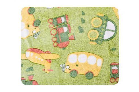 My Best Home Deka Circus 75x100 cm - zelená Dětské deky