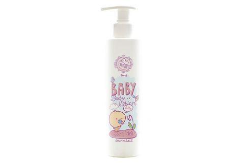 Hristina Přírodní tělové mléko pro miminka 250 ml Dětské krémy