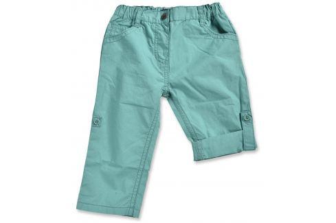 Blue Seven Dívčí ohrnovací kalhoty - tyrkysové Dětské Kalhoty