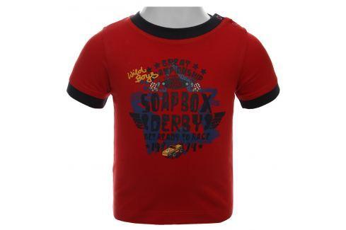 Blue Seven Chlapecké tričko Soap Box - červené Trička s krátkým rukávem
