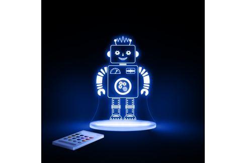 Aloka Noční světýlko Robot + ovladač pro volbu barev Noční světýlka a lampičky