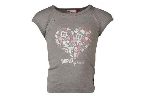 LEGO® wear Dívčí tričko Tiff 402 - šedé Trička s krátkým rukávem