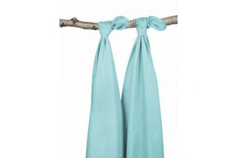 Jollein Osušky bambus balení 2ks, mint, 115x115cm Osušky a ručníky