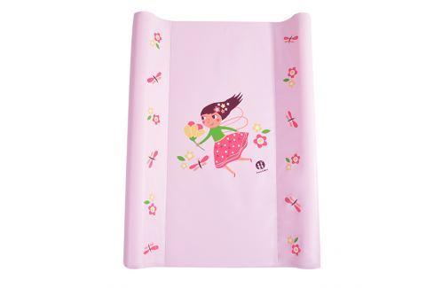 Petite&Mars Podložka přebalovací Paddy - růžová, víla, 70 cm Přebalovací podložky