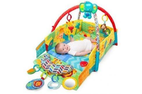 Bright Starts Deka na hraní Sunny Safari 0+ Hrací deky a podložky