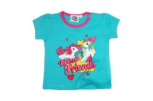 E plus M Dívčí tričko My little Pony - tyrkysové Trička s krátkým rukávem
