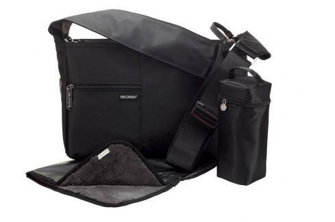Melobaby MELOTOTE černá Přebalovací tašky