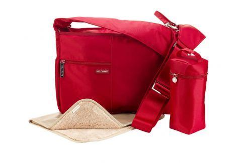 Melobaby MELOTOTE červená Přebalovací tašky