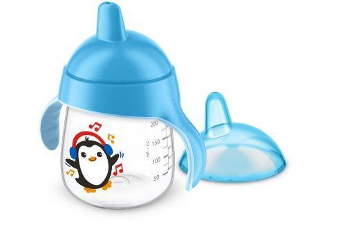 Philips Avent Hrneček pro první doušky Premium 260 ml, modrý Kojenecké lahve a hrníčky