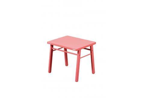 Combelle Dětský stoleček - růžový Dětské stolky a židle
