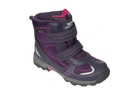 Recenze Trespass Dívčí kotníkové outdoorové boty Giz Gaz - fialové c128ee2288