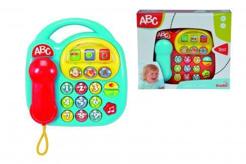 Simba Baby telefon, na baterie, 20x20 cm Rozvoj a aktivita