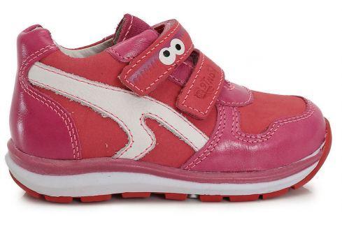 Recenze Ponte 20 Dívčí kožené boty s očima - růžové c3022bd13c