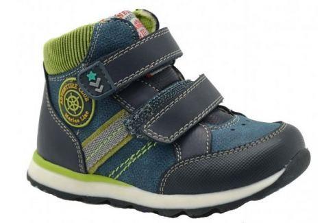 Recenze Bugga Chlapecké kotníkové boty - modro-zelené 2532b2ea8c