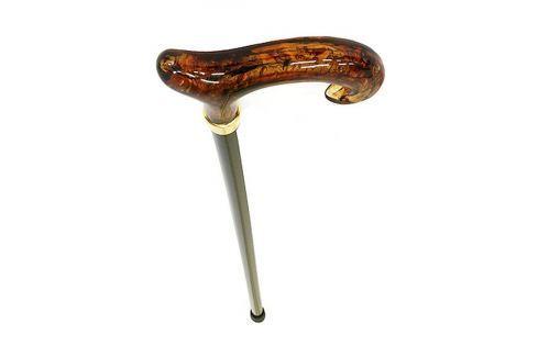 Walking sticks Dřevěná vycházková hůl s plastovou rukojetí Walking sticks 149 Vycházkové hole