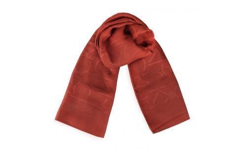 Calvin Klein Dámský čtvercový šátek Tina Jacquard K60K603474 Zlevněné kabelky