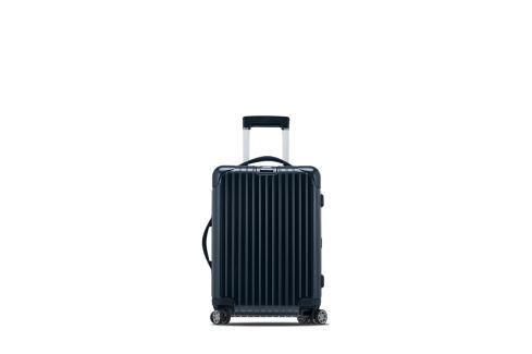 Rimowa Kabinový cestovní kufr Salsa Deluxe 37 l - modrá Cestovní kufry