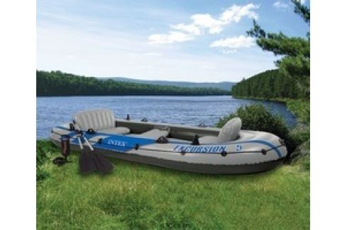 INTEX 68325 nafukovací člun Excursion 5 Set Nafukovací čluny