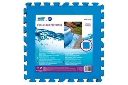 Pěnová podložka GRE pod bazén 50 x 50 cm - modrá Podložky pod bazén
