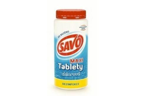 SAVO chlorové tablety MAXI 1,4Kg Chlorová dezinfekce bazénové vody