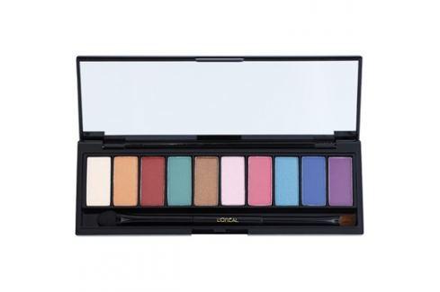 L'Oréal Paris Color Riche La Palette Glam paleta očních stínů se zrcátkem a aplikátorem  7 g Oční stíny