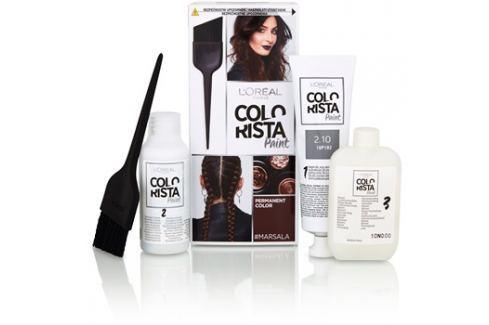 L'Oréal Paris Colorista Paint permanentní barva na vlasy odstín Marsala Barvy na vlasy