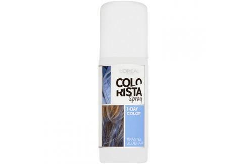 L'Oréal Paris Colorista Spray barva na vlasy ve spreji odstín Pastel Blue  75 ml Barvy na vlasy