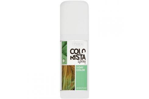 L'Oréal Paris Colorista Spray barva na vlasy ve spreji odstín Mint  75 ml Barvy na vlasy