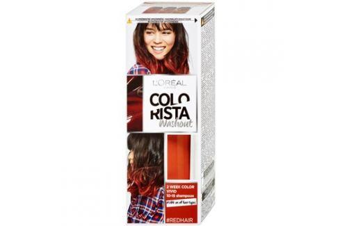 L'Oréal Paris Colorista Washout vymývající se barva na vlasy odstín Red  80 ml Barvy na vlasy