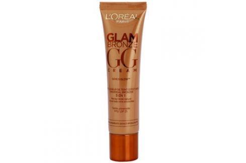 L'Oréal Paris Glam Bronze GG Cream bronzující krém na obličej 5 v 1 odstín Universelle (SPF 25) 30 ml Tónovací krémy