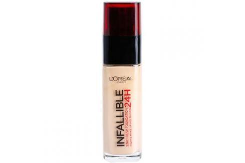 L'Oréal Paris Infallible dlouhotrvající tekutý make-up odstín 125 Natural Rose  30 ml up