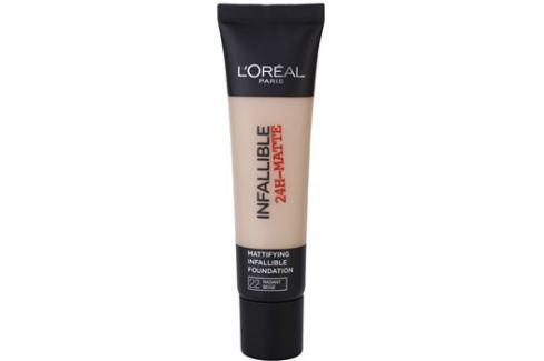 L'Oréal Paris Infallible matující make-up odstín 22 Radian Beige 35 ml up
