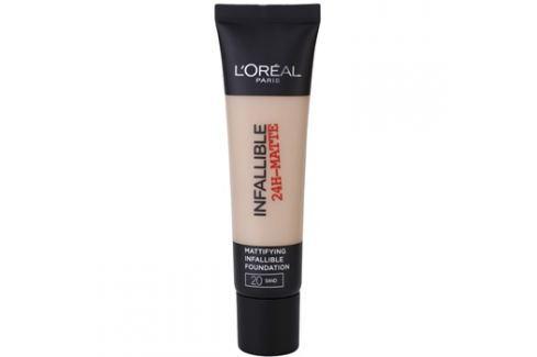 L'Oréal Paris Infallible matující make-up odstín 20 Sand 35 ml up