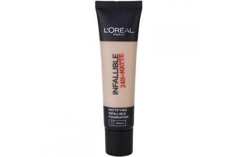 L'Oréal Paris Infallible matující make-up odstín 11 Vanilla 35 ml up