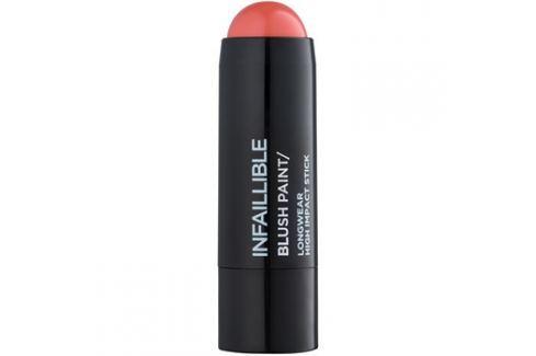 L'Oréal Paris Infallible Paint Chubby krémová tvářenka odstín Pinkabilly 7 g Tvářenky