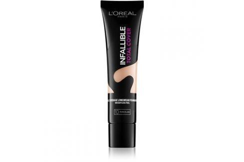 L'Oréal Paris Infallible Total Cover dlouhotrvající make-up s matným efektem odstín 10 Porcelain 35 g up