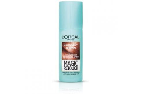 L'Oréal Paris Magic Retouch sprej pro okamžité zakrytí odrostů odstín Mahogany Brown 75 ml Barvy na vlasy