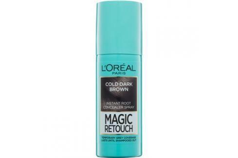 L'Oréal Paris Magic Retouch sprej pro okamžité zakrytí odrostů odstín Cold Dark Brown 75 ml Barvy na vlasy
