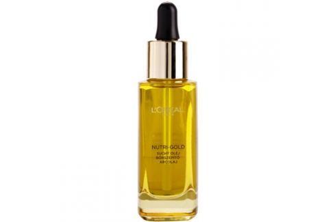 L'Oréal Paris Nutri-Gold pleťový olej z 8 esenciálních olejů  30 ml Pleťové oleje