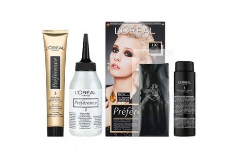 L'Oréal Paris Préférence barva na vlasy odstín 102 Barvy na vlasy